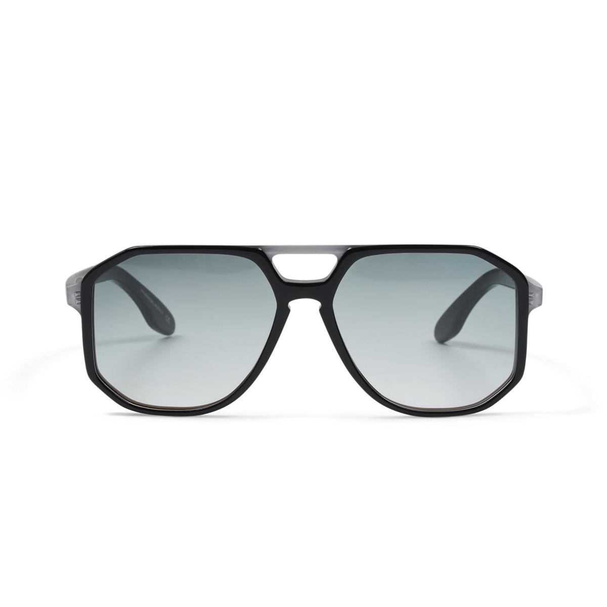 6c2fcfd659 Oliver Goldsmith Black and Brown Aviator Spillane Sunglasses