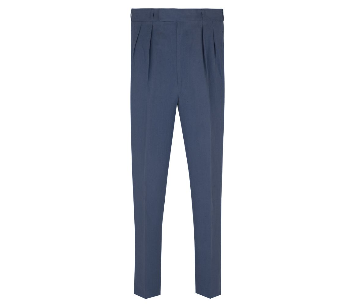 Navy High Waisted Linen Trousers Anderson & Sheppard Discount Codes Shopping Online Fast Delivery Online cPRvbgxH4