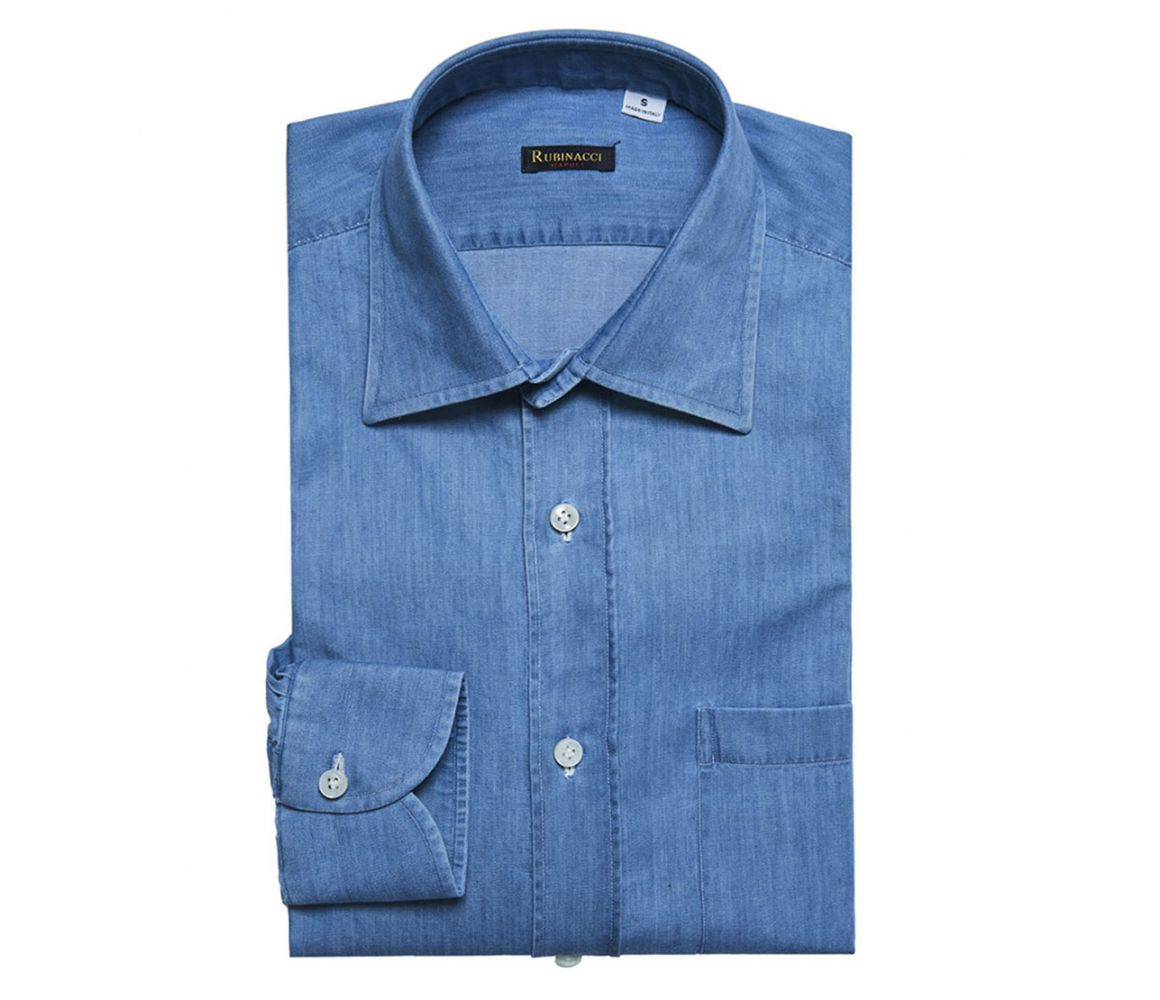 Blue Denim Shirt | The Rake