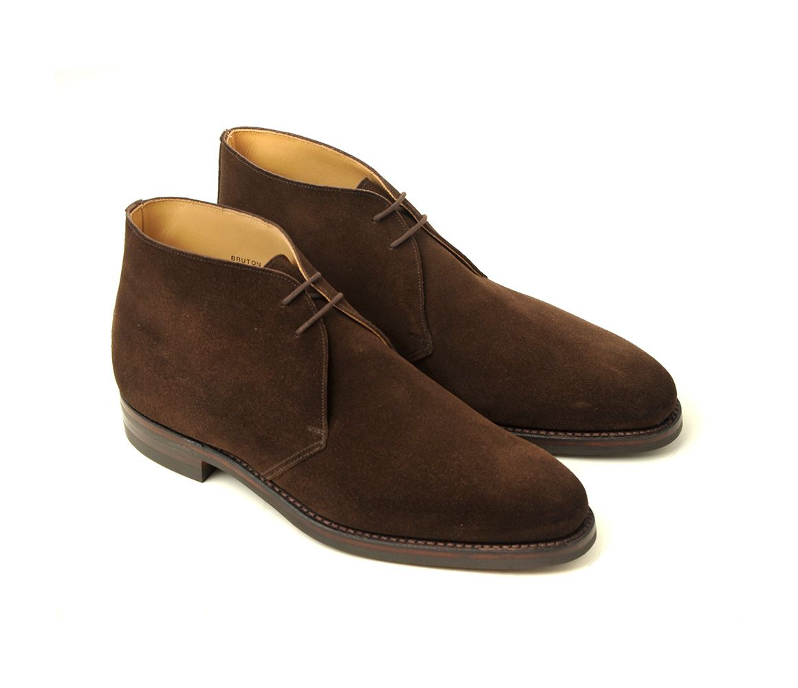 Dark Brown Bruton Suede Chukka Boots Bodileys Clearance Prices apyatRL3v