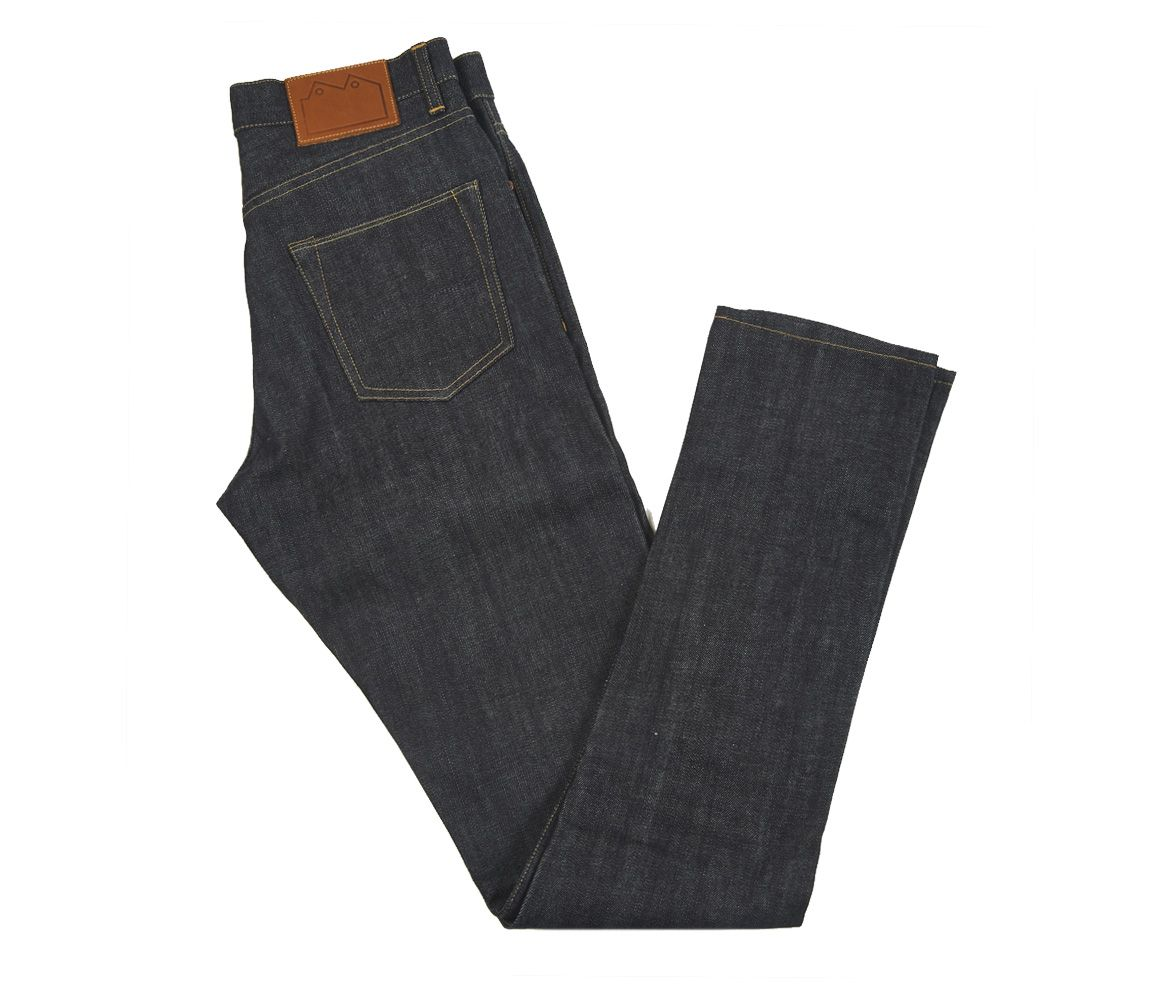 Indigo E8 Super Slim Tapered Selvedge Denim Jean Blackhorse Lane Atelier VIOlT