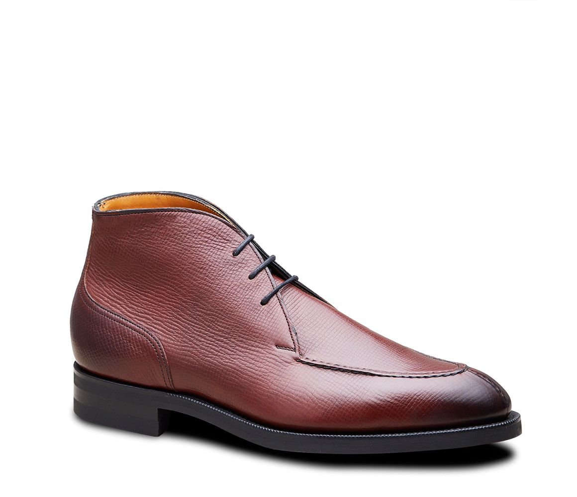 Prices Online Dark Brown Halifax Utah Leather Chukka Boots Edward Green Nicekicks Cheap Online Genuine Online ktbB1v