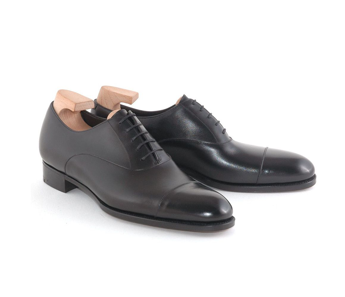 Black Classic Leather Oxford Shoes Gaziano & Girling bySc01j7n1