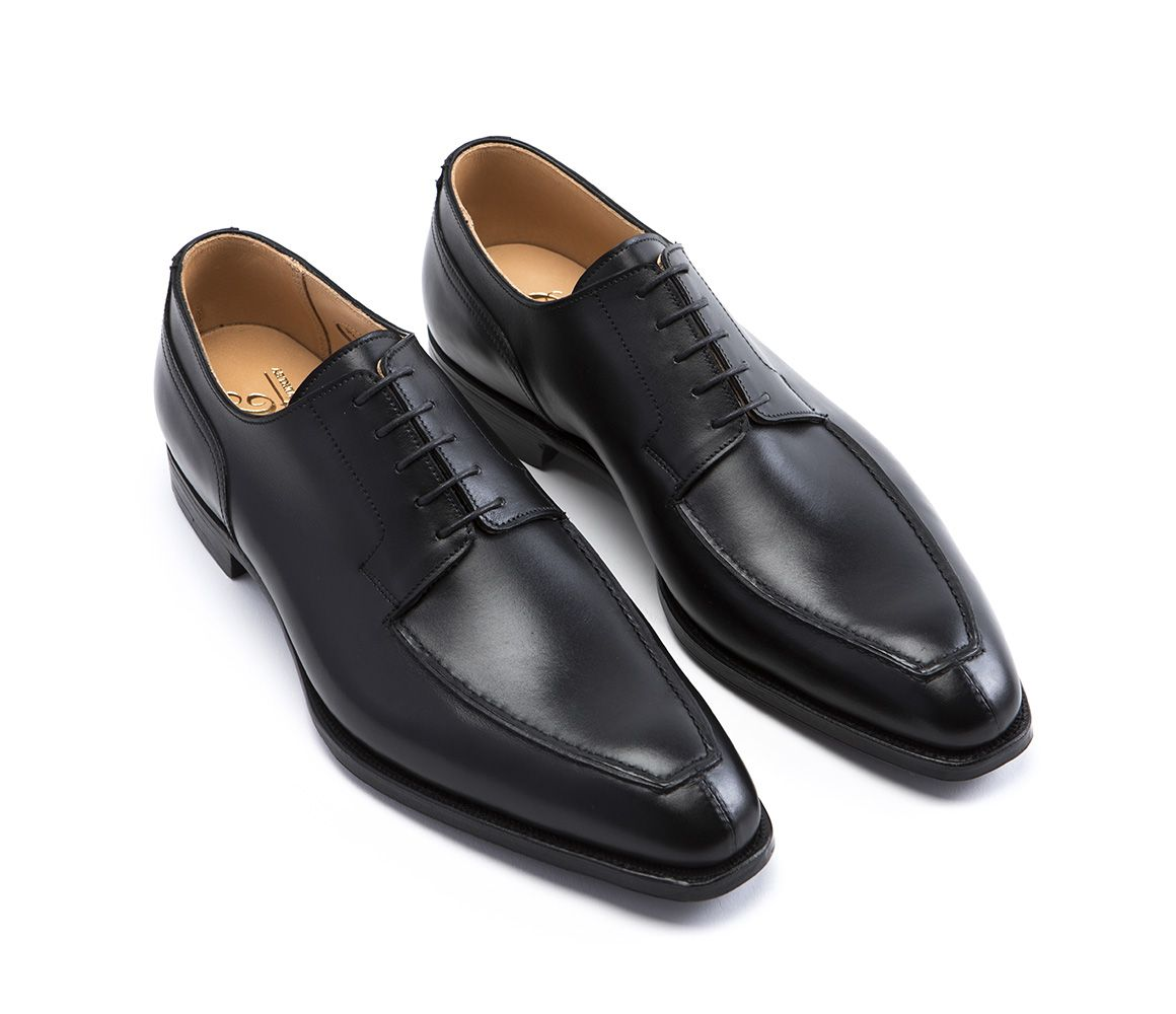 Black Oliver Norwegian Leather Derbys George Cleverley