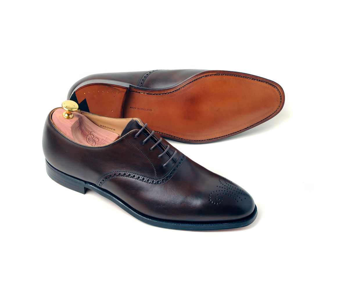 Black Hanover Calf Leather Oxfords Bodileys Footlocker Pictures Cheap Price Clearance Very Cheap EU5Tolq4Kb