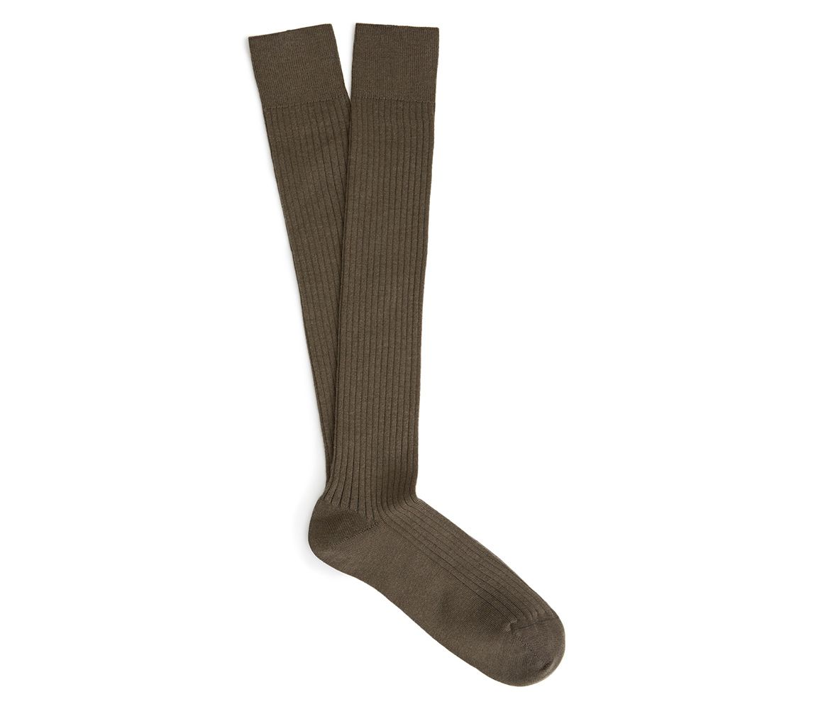Extremely Cheap Online Cheap Discount Black Ribbed Merino Wool Long Socks New & Lingwood I3T9ou