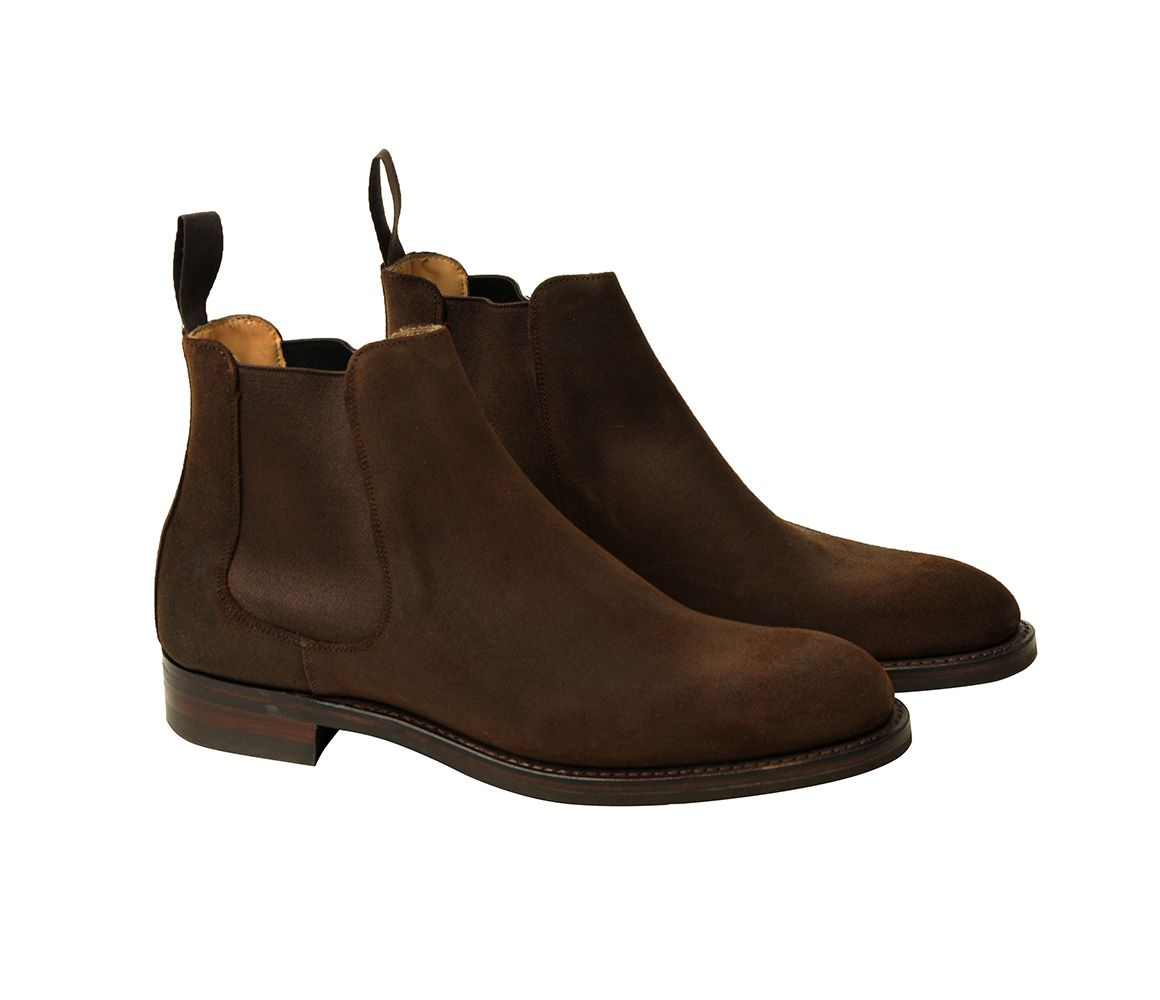 Brown Russel Rough Out Suede Chelsea Boots Bodileys Cheap Sale Big Discount kp0rMNKrf
