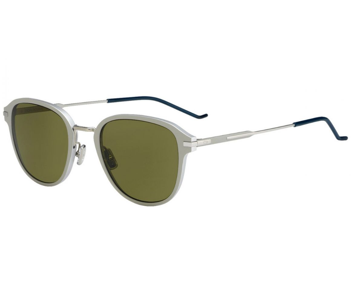 Silver Frames with Polarized Grey Lenses Sunglasses 13.9 TDC/A6 ...