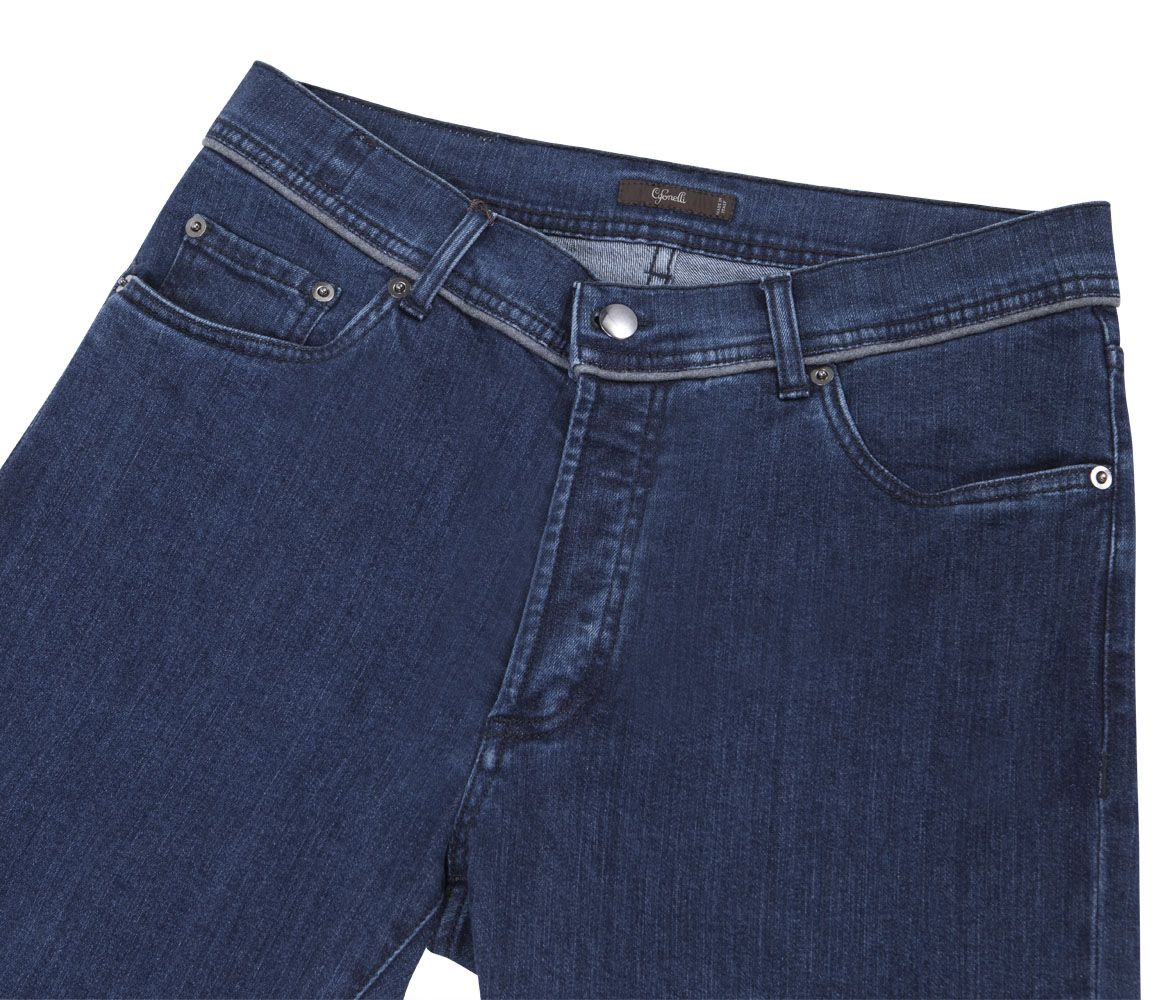 Blue Cotton Jeans Cifonelli YEypFRBRb