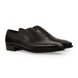 George Cleverley Black Calf Leather Anthony Cleverley Churchill Ii