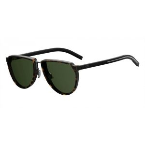 5d912716c32d6 Dior Homme. Brown Tortoiseshell Round Frames with Black Lenses Sunglasses  ...
