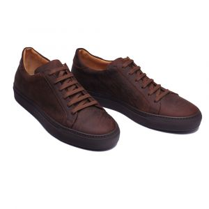 Leather Kudu Snuff Brown Rake Stefano The Bemer Sneakers q6CwggPSI