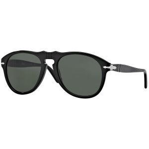 3dfed35956 Icons PO0649 95 31 Black with Grey Lenses Sunglasses