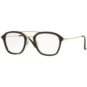 6508c72a57 Ray-Ban. Tortoiseshell and Gold Frames with Clear Lenses Eyewear ...
