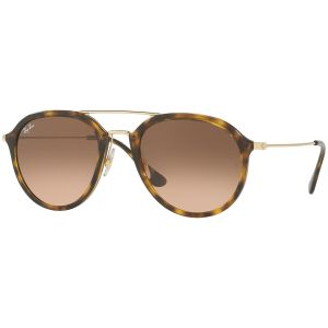 a23c9a9250f5 Ray-Ban. Tortoiseshell and Gold Frames with Brown Lenses Sunglasses ...