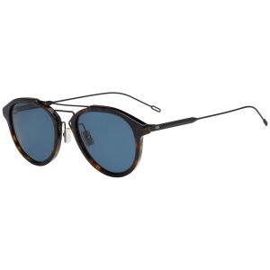 fc11577787cc4 Dior Homme. Black Tie Black Tortoiseshell Frames with Polarized Black Lenses  Sunglasses ...