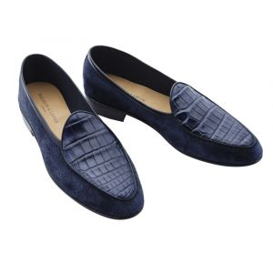 ae38b72d39c Baudoin   Lange for The Rake  The Luxe Sagan Loafer