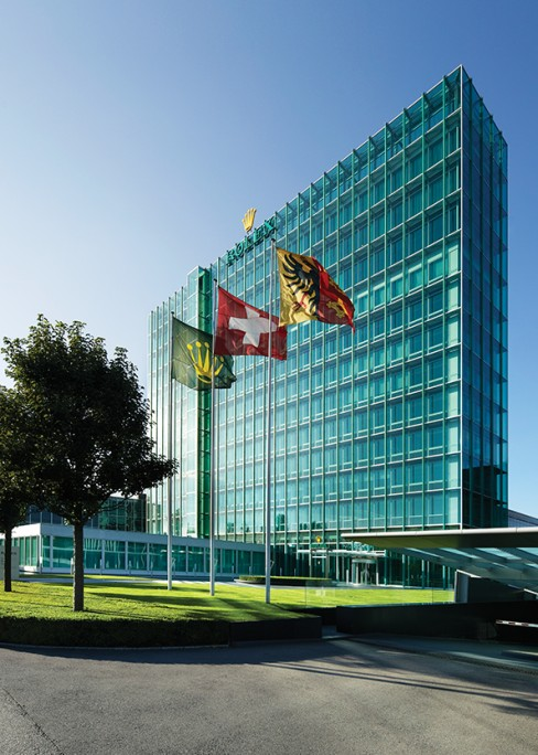 Rolex buildings in Geneva, Acacias.