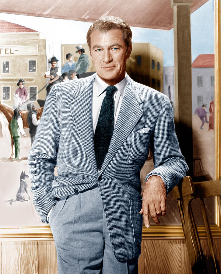 Gary Cooper, Low Gorge Suit, The Rake