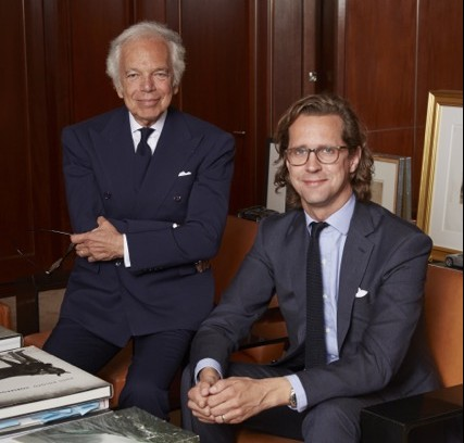 Ralph Lauren with Stefan Larsson