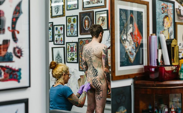 Paint The Town | Tattoo London