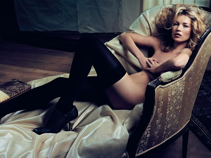 Kate moss first nude apologise