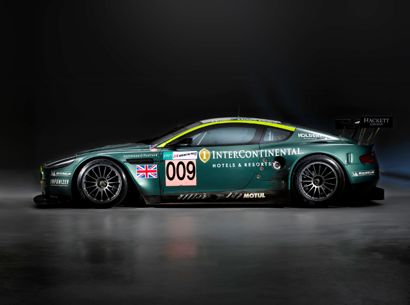 Aston Martin Racing Team Car Flag