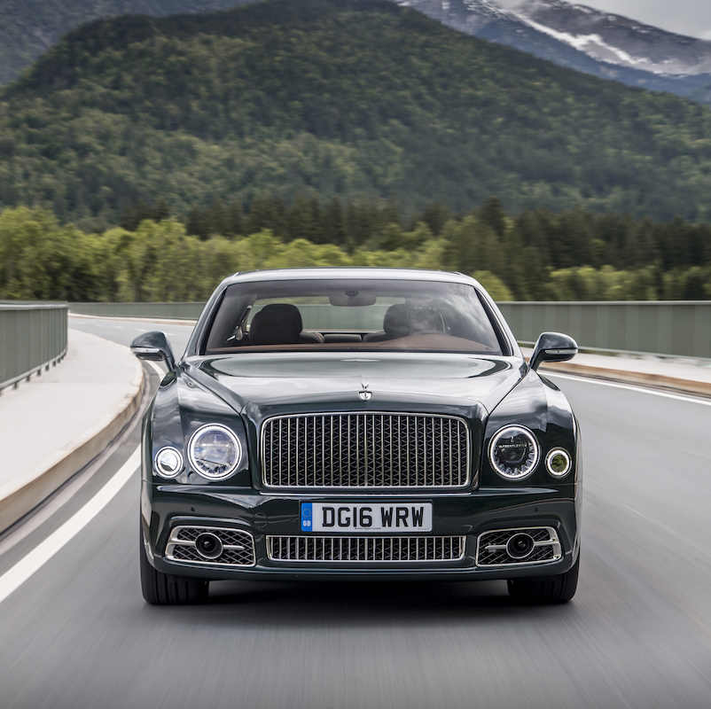 Bentley Mulsanne: A Yacht On Wheels: The Bentley Mulsanne Part II