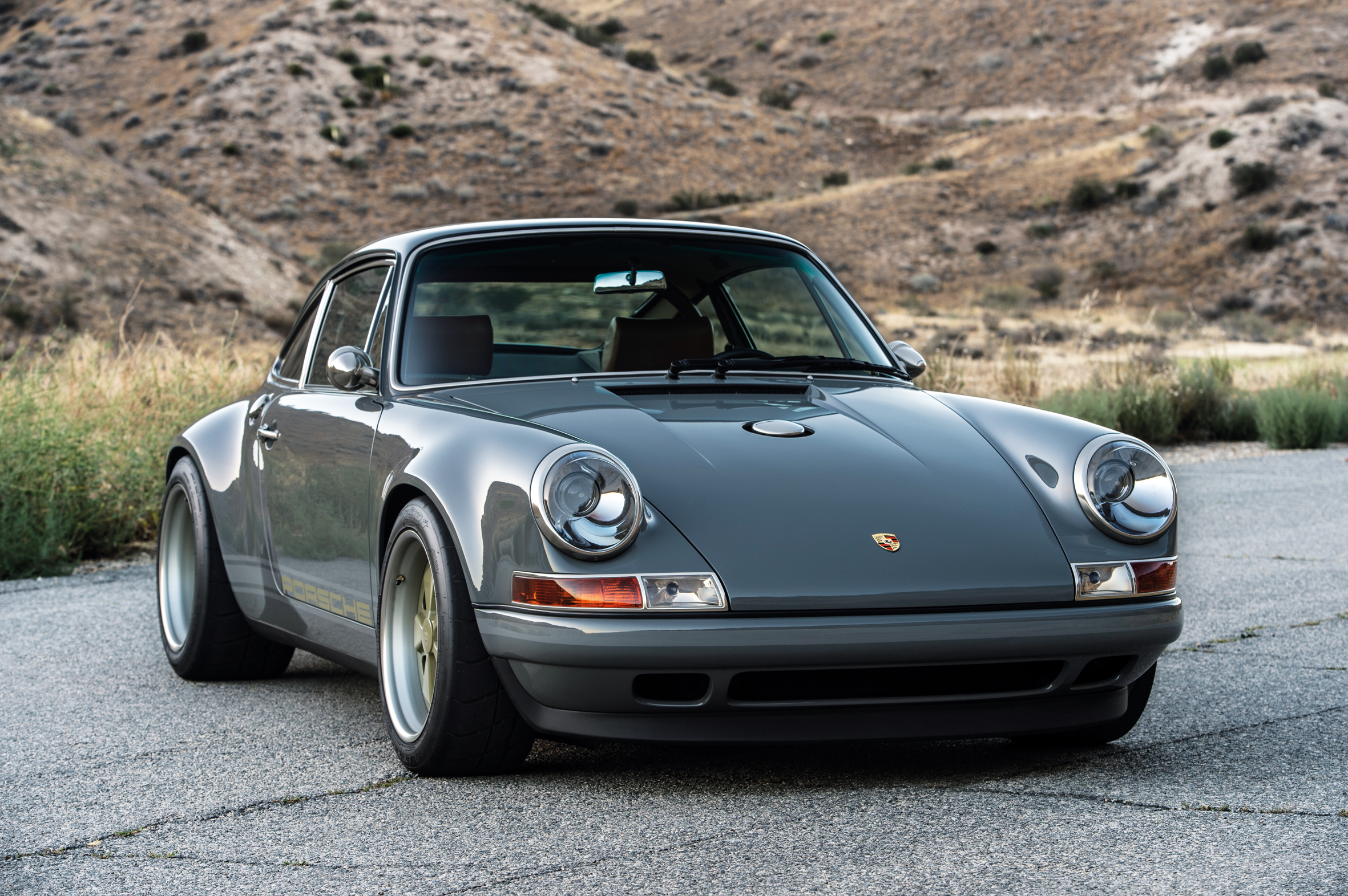 note perfect porsche 911 by singer the rake
