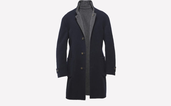 The Impractical Choice: Brunello Cucinelli Double Sided Cashmere Coat