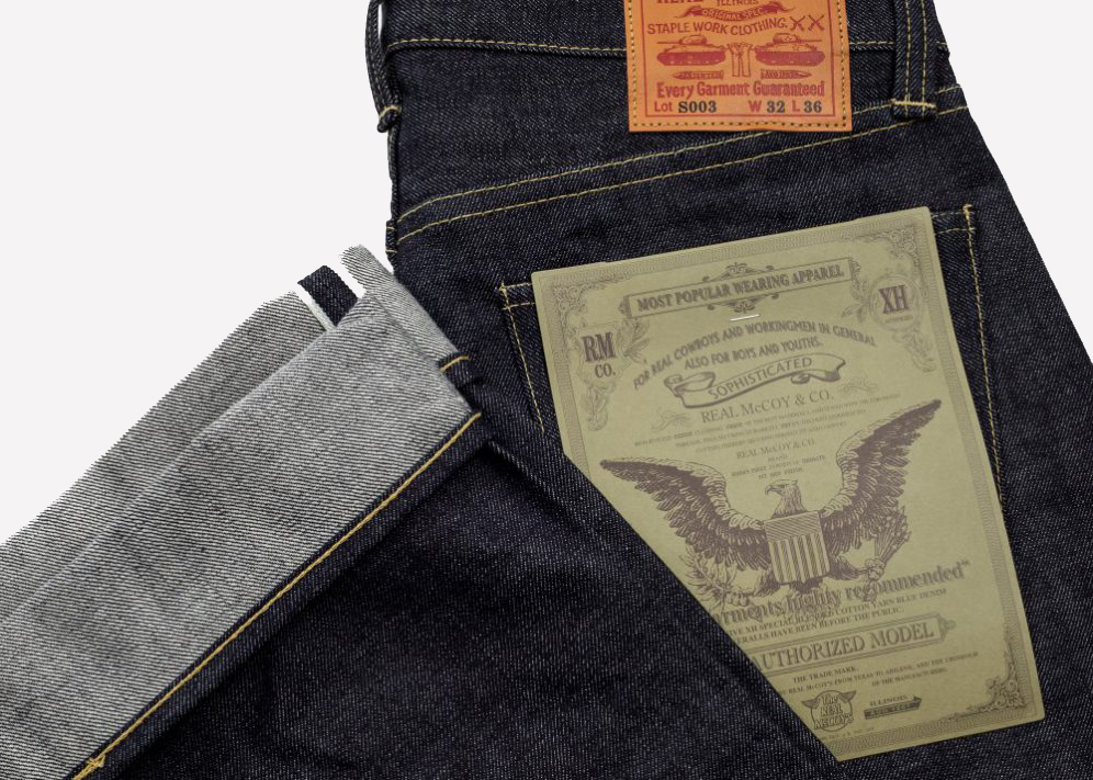 Invest: The Real McCoy\'s Lot.003 Japanese Selvedge Denim Jeans | The ...