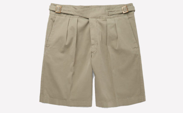 Invest: Rubinacci Washed Stretch-Cotton Bermuda Shorts