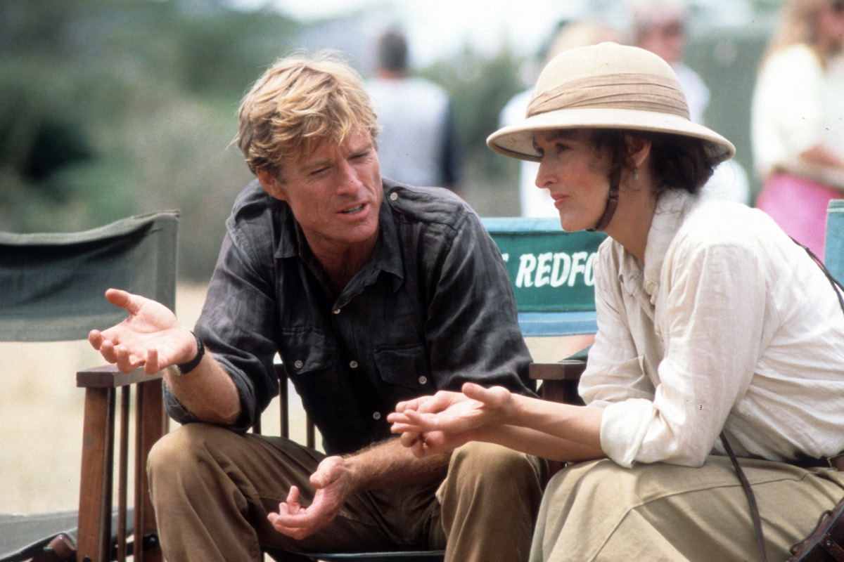 An Indecent Obsession 1985 golden ageing: robert redford | the rake