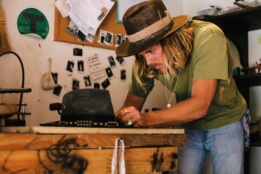 The Rake, Nick Fouquet, Hats, Distressing, Craftsmanship, Montana, London