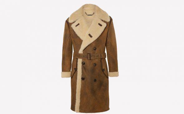 Invest: Ralph Lauren Purple Label Shearling Coat