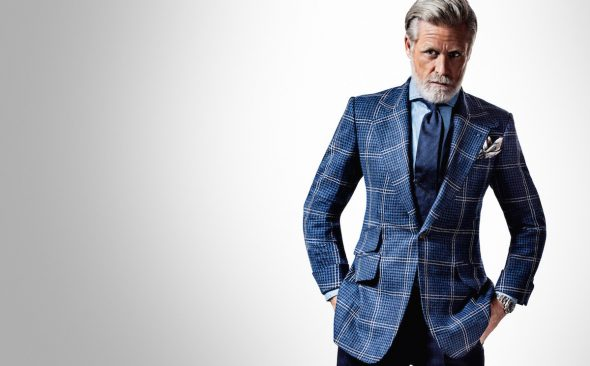 Huntsman for The Rake: The House Tweed Hacking Jacket