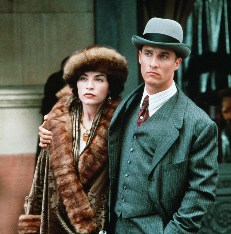 Julianna Margulies And Matthew McConaughey In The Newton Boys 1998 Photo By Deana Newcomb 20th Century Fox REX Shutterstock