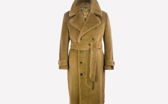 Alpacking Heat: The Motoluxe Teddy Bear Coat