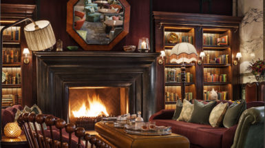 Rose Tinted Glasses: Scarfes Bar at The Rosewood