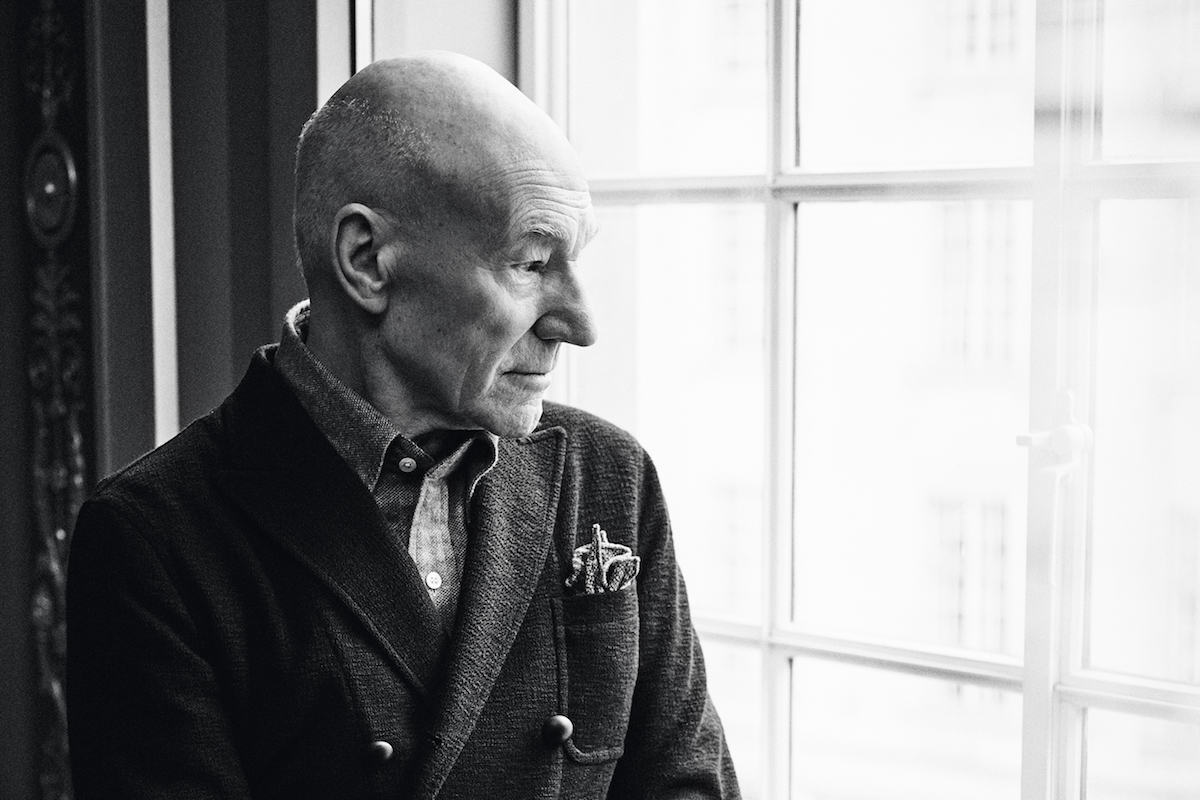 Sewing The Seeds of Time: Sir Patrick Stewart