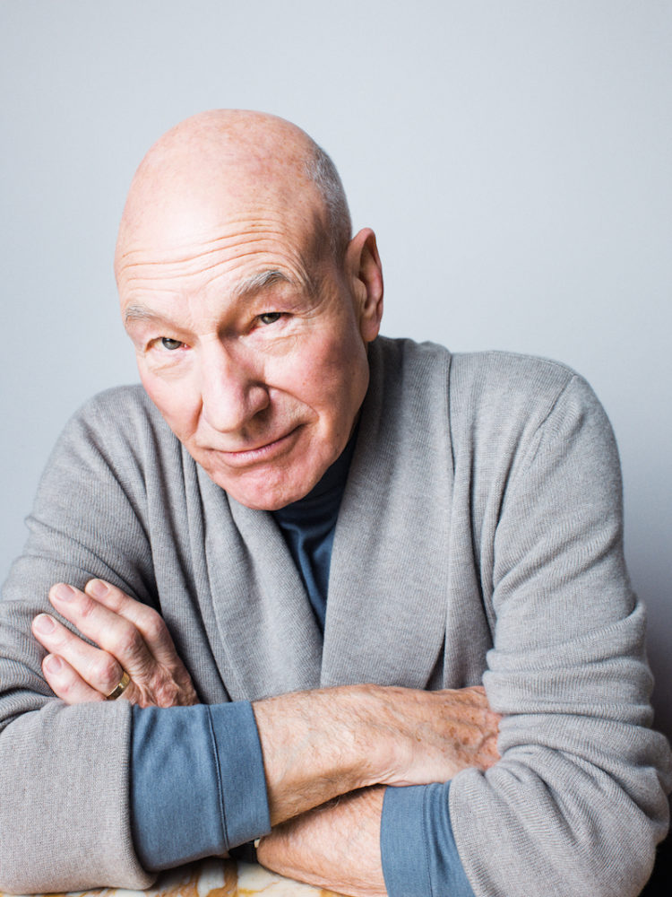 The Rake, Sir Patrick Stewart, Issue 50