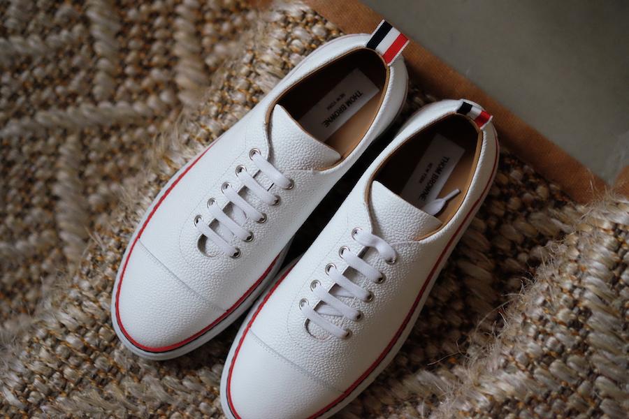 The Rake, White Sneakers
