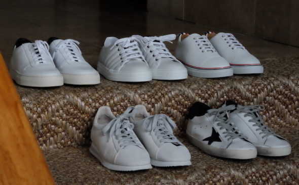 Step Into The Light: Luxury White Sneakers