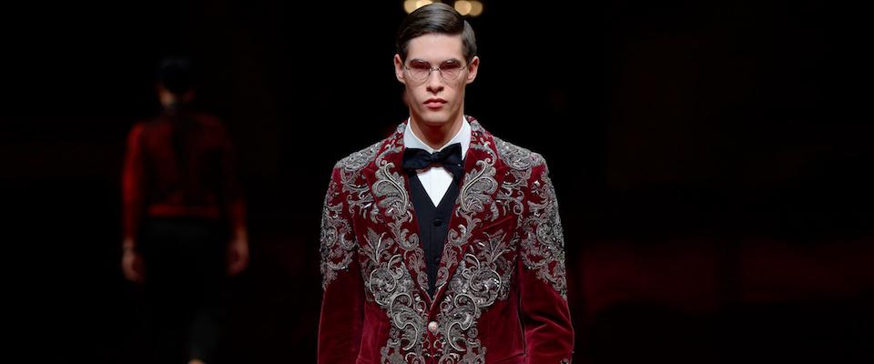 Dress Coda: Dolce & Gabbana Alta Sartoria 2017