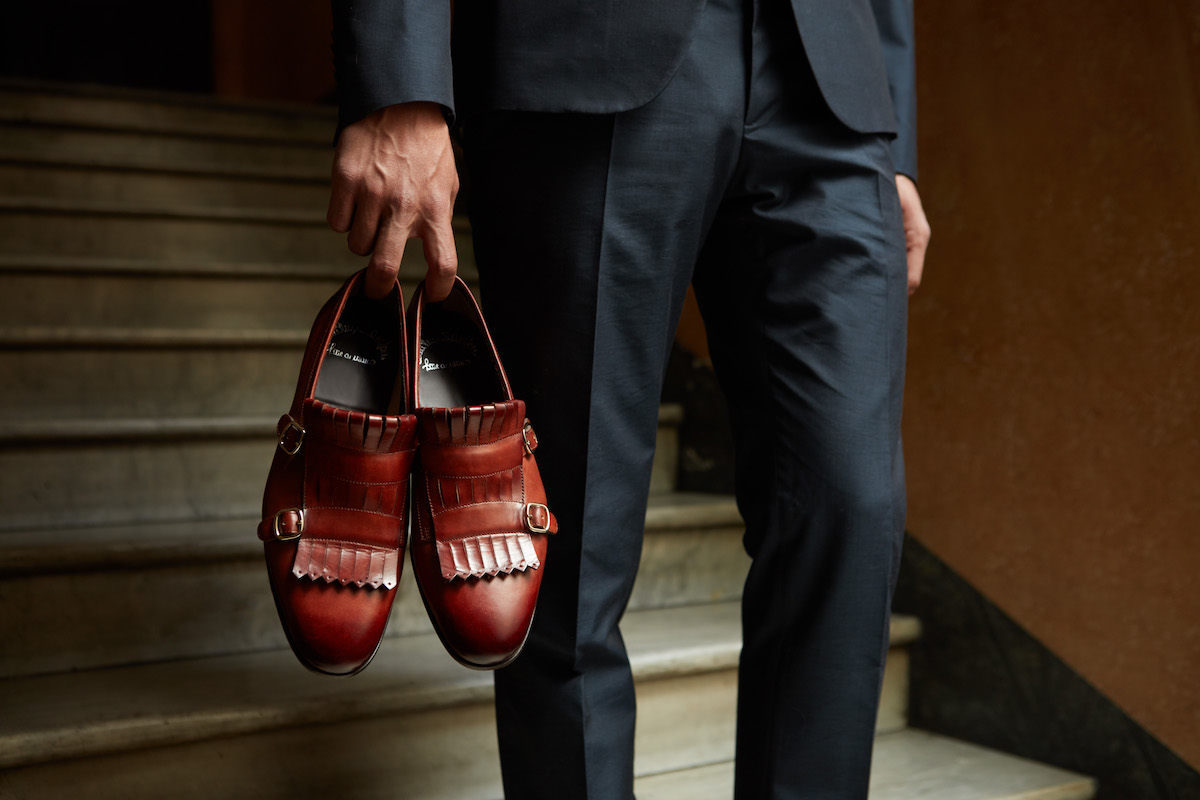 save off 82b01 e1a49 What Makes Santoni Shoes Special | The Rake