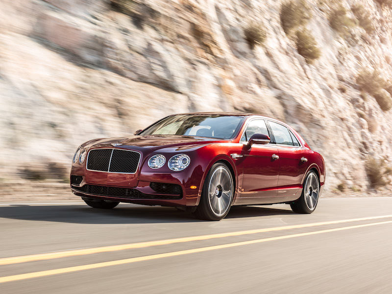 The Rake, Bentley Flying Spur V8 S