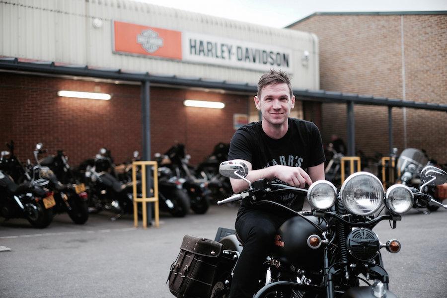 Charlie Stockwell, Harley Davidson, Custom