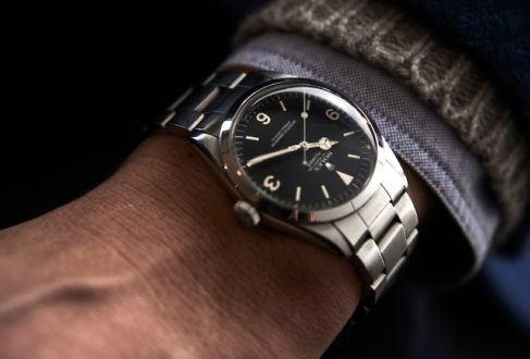 6b98d96c78a This elegant 36mm seventies Rolex Explorer Ref. 1016 with a gorgeous creamy  patina on the. Toby likes pocket-squares ...