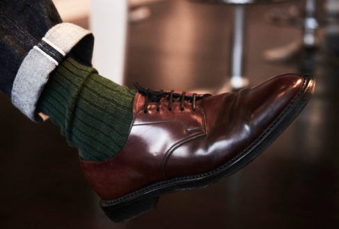 c739d60fa71 Traditional and yet modern too, these English-made Edward Green shoes made  from cordovan