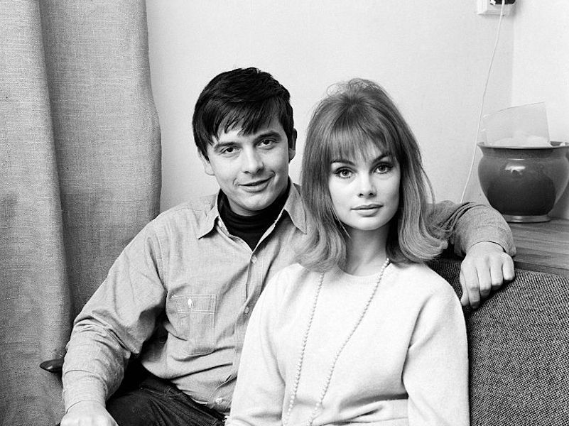 Bailey And Shrimpton At The Photographers Home 1963